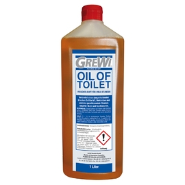 OIL OF TOILET