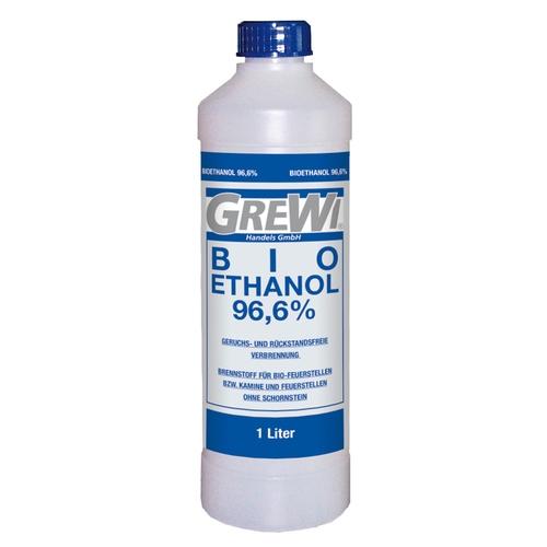 Gut gemocht GREWI BIO-ETHANOL 96,6% 1 Liter - Grewi - Die Marke für Profis QT86